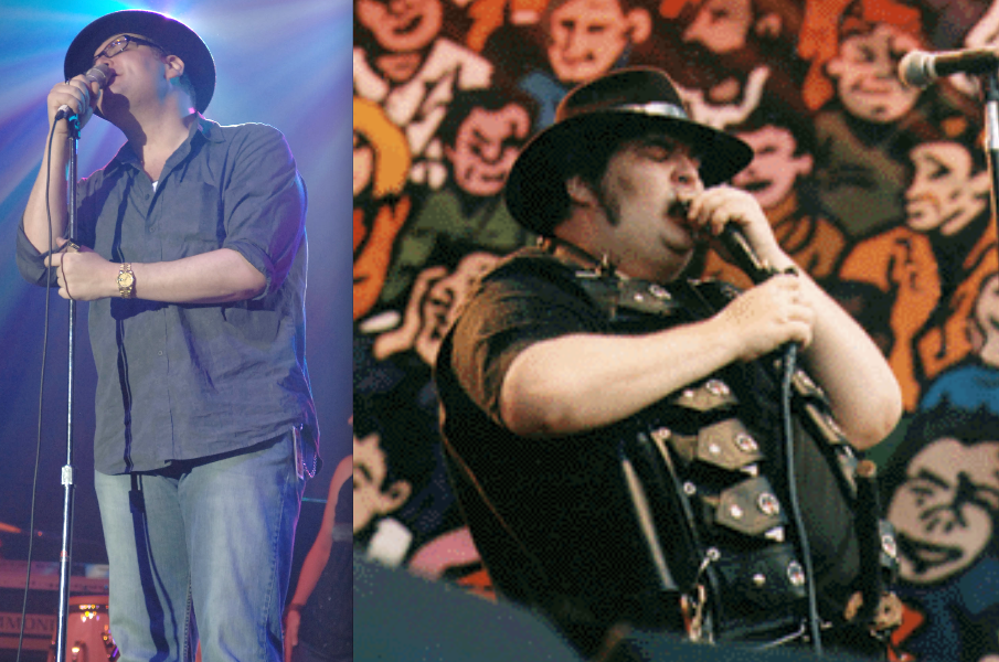 John Popper before after 