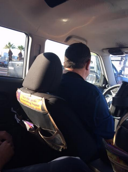 Vegas Reclined Cab Driver