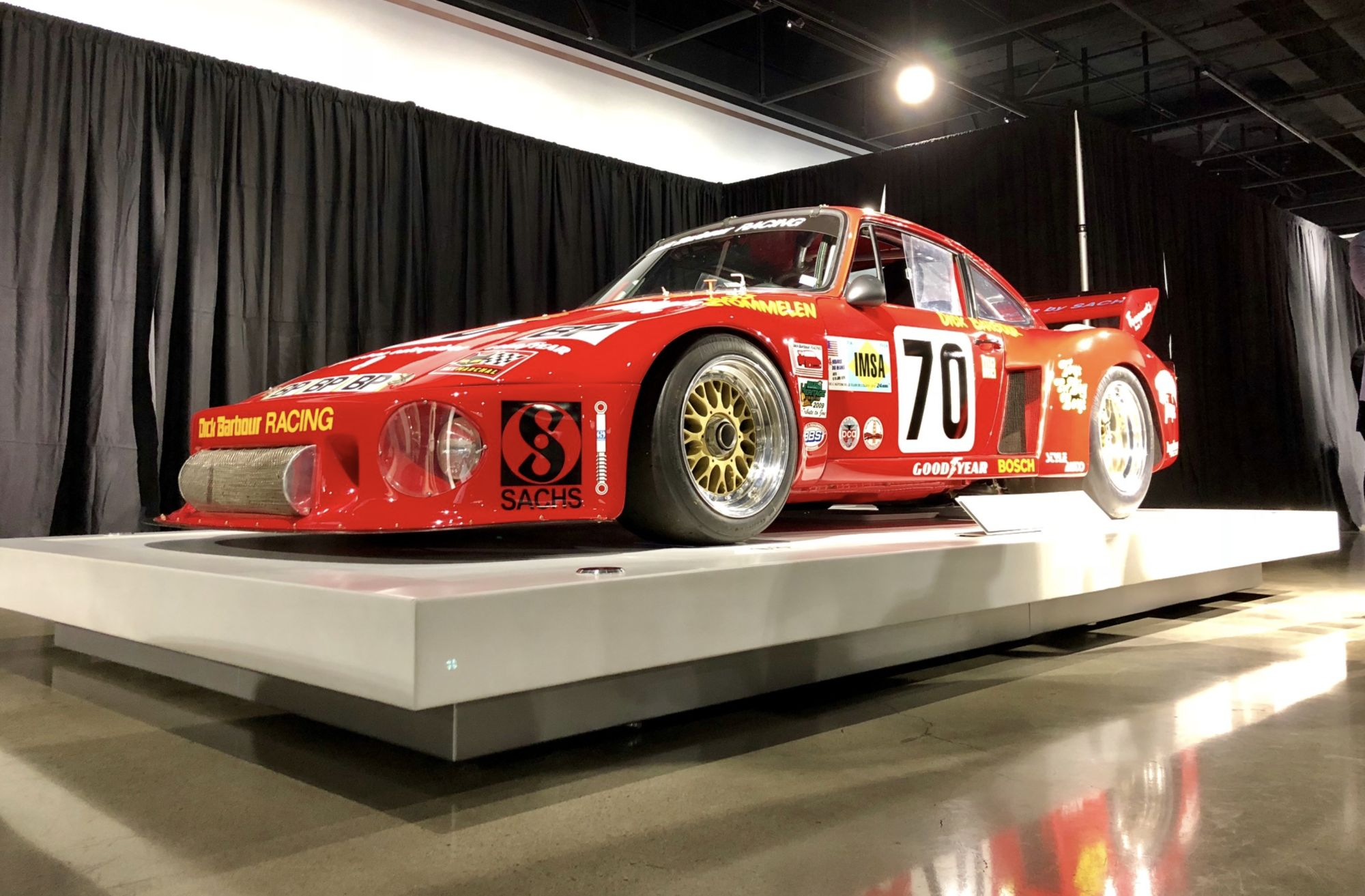 01-Newman-Porsche-on-Display