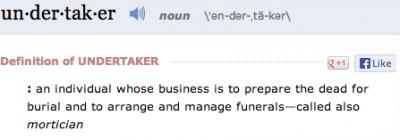 13-undertaker-definition