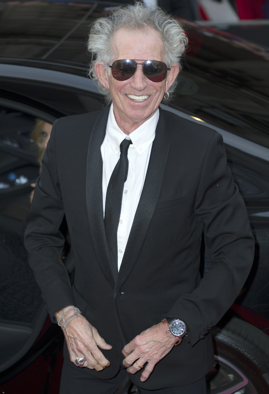 GQ Men Of Year Awards at the Royal Opera House, Covent Garden, London  Featuring: Keith Richards Where: London, United Kingdom When: 08 Sep 2015 Credit: WENN.com