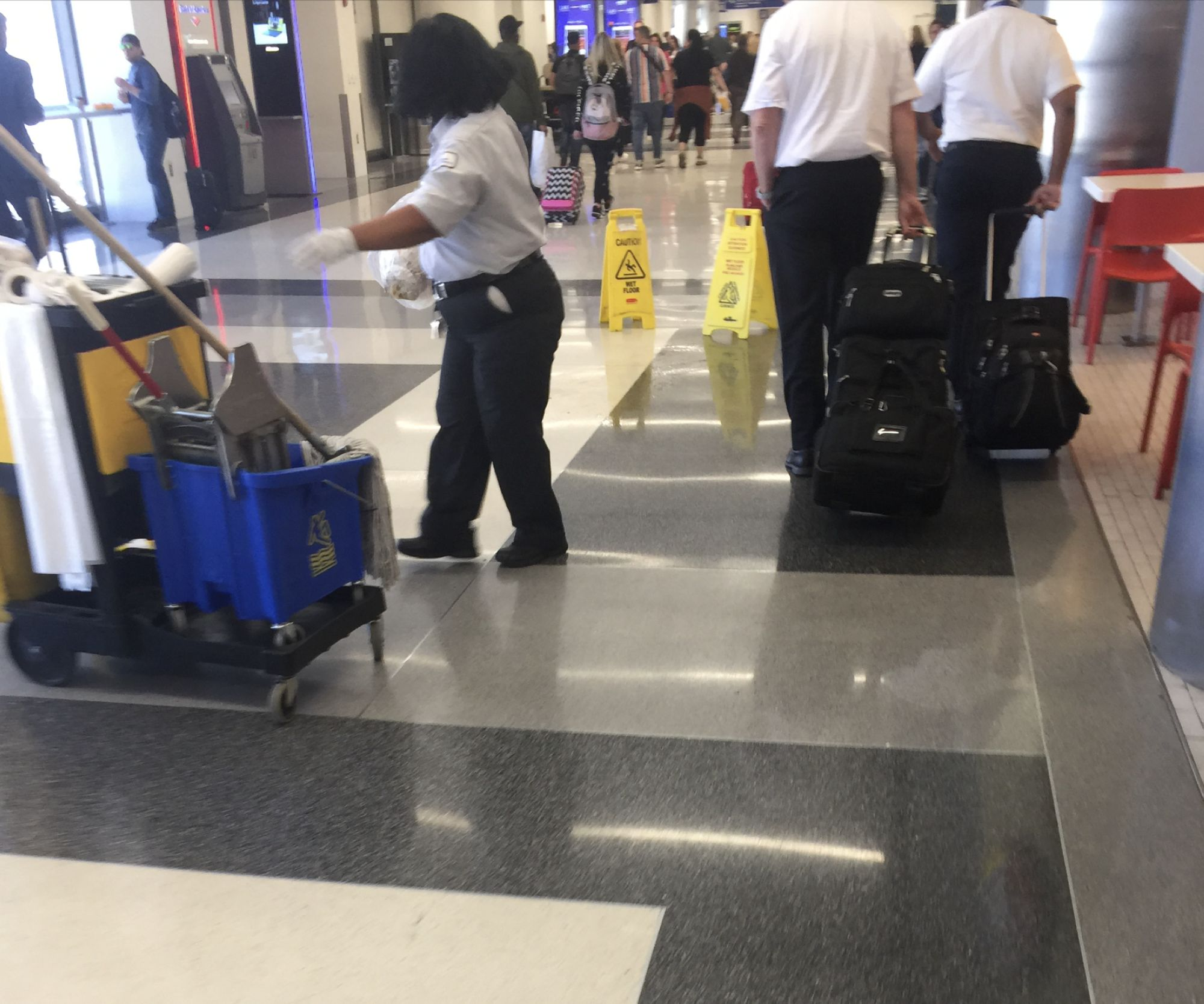 06-Airport-clean-up-lady