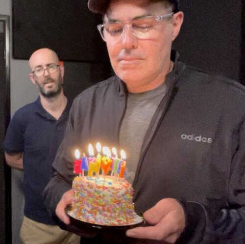 01 - Adam With Cake