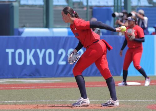 01 - Cat Osterman Softball Pitcher No Visor