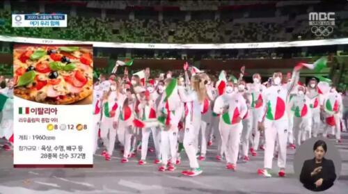 01 - Italy Pizza South Korean Station Intro