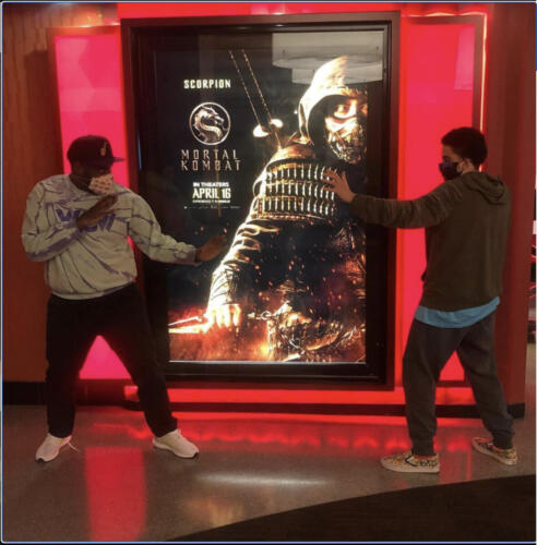 02 - Ron Funches and Son at Mortal Kombat