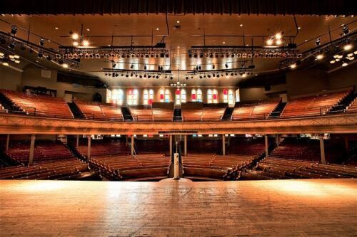 02 - Ryman Auditorium Interior