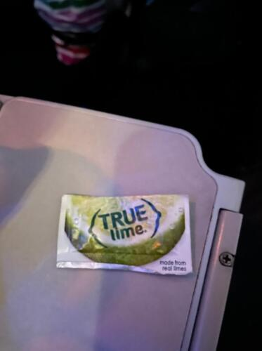 03 - Airplane Lime Packet