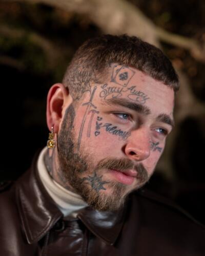 06 - Post Malone Face tattoos