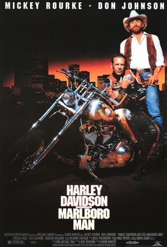 11 - Harley Davidson and the Marlboro Man bad guys Poster