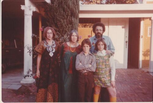 11 - Jim Carolla Afro Outside Grandmas House