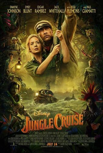 11 - Jungle Cruise Poster